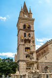 Cathedral of Messina Royalty Free Stock Images