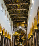 Cathedral of Messina - inside dome Royalty Free Stock Images
