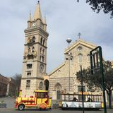 Cathedral of Messina Stock Image