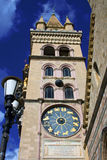 The cathedral of Messina: the tower bell Royalty Free Stock Image