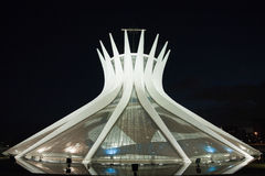 Cathedral Metropolitana Nossa Senhora Aparecida. The Metropolitan Cathedral of Brasilia city capital of Brazil Stock Photo