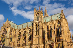 Cathedral of Metz Stock Photography
