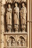 Cathedral in Metz, France Stock Photography