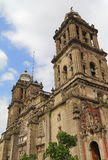 Cathedral of mexico city VII Royalty Free Stock Images