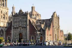 Cathedral, Mexico I Royalty Free Stock Photos
