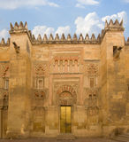 Cathedral (Mezquita) of Cordoba, Spain Stock Photography