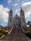 Cathedral in Midland Ontario stock photography
