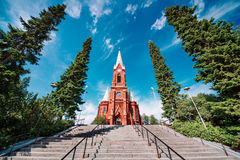 Cathedral in Mikkeli Stock Photography