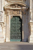 Cathedral of Milan � first right door Stock Photo