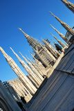 Cathedral of Milan Royalty Free Stock Photos