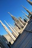 Cathedral of Milan Royalty Free Stock Photos