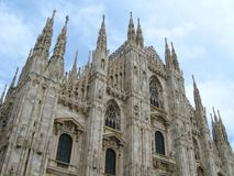 Cathedral of Milan Royalty Free Stock Photo