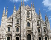 Cathedral of Milan Stock Photography