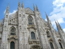 Cathedral of Milan Royalty Free Stock Image