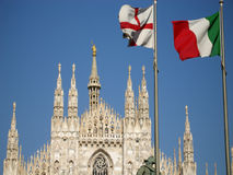 Cathedral in Milan Royalty Free Stock Photos