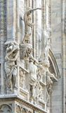 Cathedral of milan.detail Royalty Free Stock Images