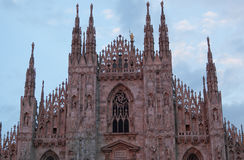 Cathedral in Milan Stock Images