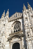 Cathedral in Milan Stock Photography