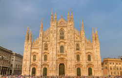 Cathedral of Milan, Italy Stock Image
