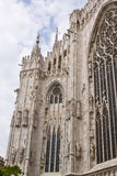 Cathedral of Milan in Italy, Europe Stock Photo