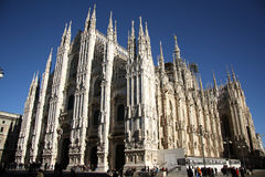 Cathedral in Milan, Italy Royalty Free Stock Photos