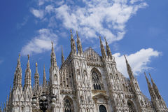 Cathedral of Milan in Italy Royalty Free Stock Photo