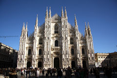 Cathedral in Milan, Italy Royalty Free Stock Images