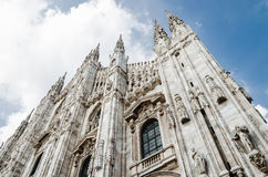 Cathedral of Milan Royalty Free Stock Photography