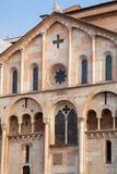 Cathedral of modena Romanesque architecture of the Middle Ages. Modena italy europe royalty free stock images