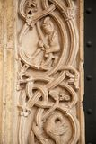Cathedral of modena Romanesque architecture of the Middle Ages. Modena italy europe royalty free stock image