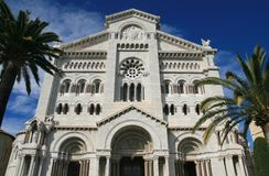Cathedral of Monaco Royalty Free Stock Image