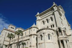 Cathedral of Monaco Royalty Free Stock Images