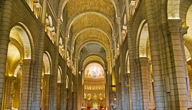 In Cathedral of Monaco Royalty Free Stock Image