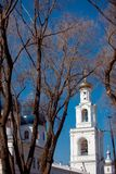 Cathedral at  monastery, Novgorod the Great Stock Image