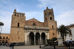 Cathedral Monreale Royalty Free Stock Photos