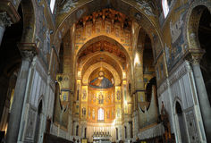 Cathedral Monreale Stock Images
