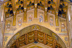 The Cathedral of Monreale Stock Photography