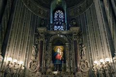 The Cathedral of Monreale Stock Images