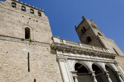 Cathedral of Monreale in Monreale, Sicily, Italy Royalty Free Stock Photography