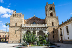 The Cathedral of Monreale, near Palermo, Italy Royalty Free Stock Image