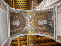 Cathedral of Monreale in Palermo, Sicily Royalty Free Stock Photography