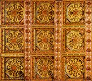 Cathedral of Monreale in Palermo, Sicily. Closeup detail view of the Cathedral of Monreale in Palermo, Sicily Stock Images