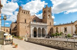 The Cathedral of Monreale in Sicily, Italy royalty free stock photo