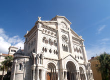 Cathedral in Monte Carlo Royalty Free Stock Photography