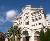 Cathedral in Monte Carlo Royalty Free Stock Photo