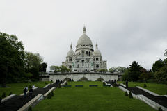 Cathedral of Montmartre in Paris, France Royalty Free Stock Photo