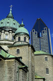 Cathedral of Montreal Royalty Free Stock Photos