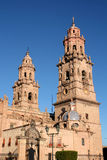 Cathedral of Morelia. (Michoacan, Mexico Stock Photography