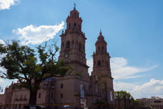 Cathedral of Morelia Royalty Free Stock Photography