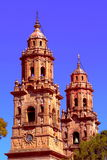 Cathedral of Morelia I. Cathedral of the city of Morelia, located in the mexican state of michoacan Royalty Free Stock Photography